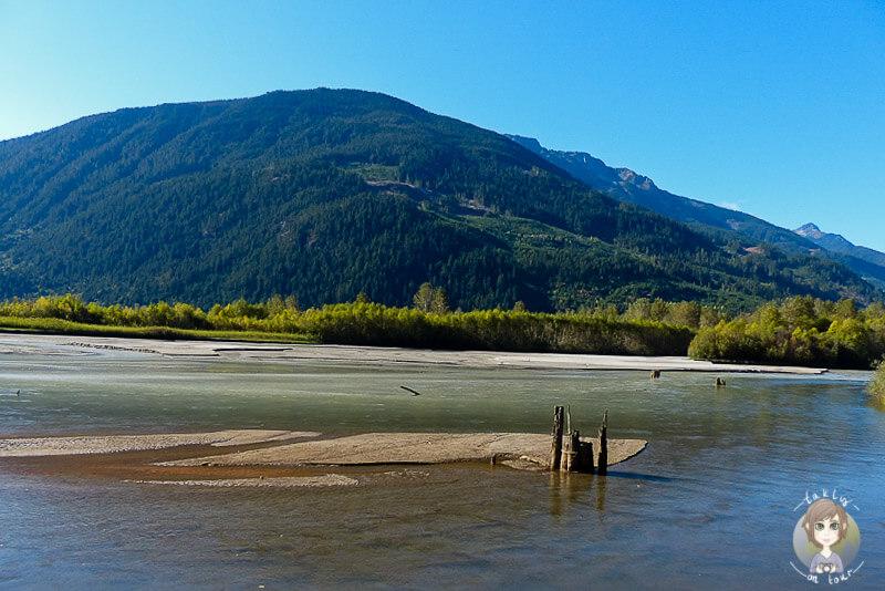 Der schöne Lillooet Lake, kurz vor Pemberton, Kanada