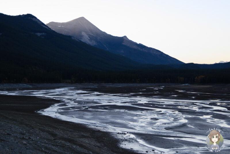 Medicine Lake am Morgen, Alberta, Kanada