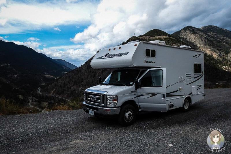 Mit dem Wohnmobil in Kanada - Cariboo Region