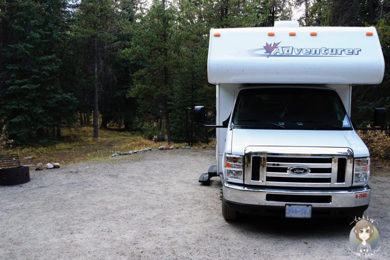 Mosquito Creek Campground, Icefields Parkway, Kanada