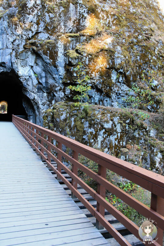 Othello Tunnel im Coquihalla Canyon Park, Hope, Kanada