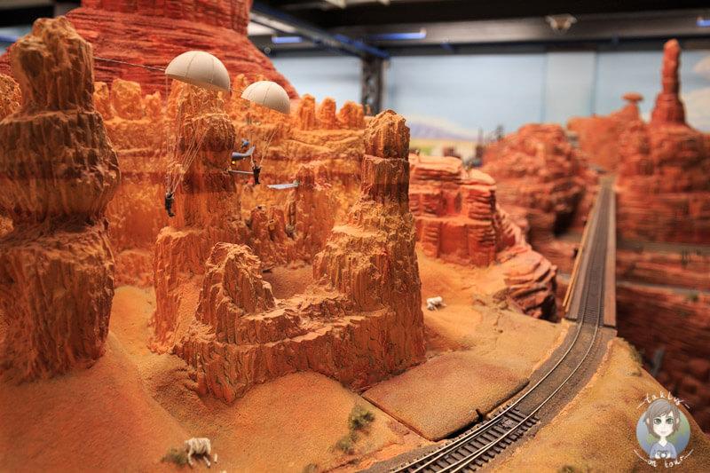 Red Rocks im Miniatur Wunderland