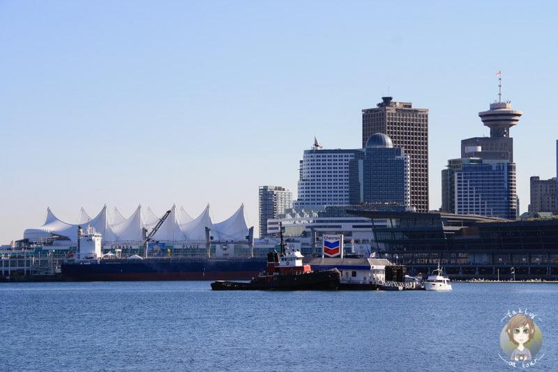 Blick auf die Skyline von Vancouver, Canada