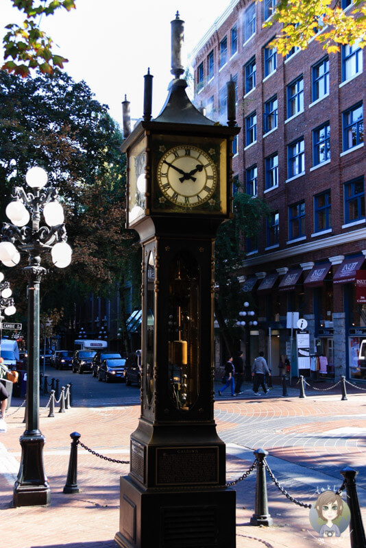 Steam Clock in Gastown, Vancouver, Kanada