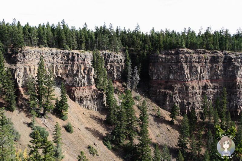 Blick auf die Chasm Schlucht, BC