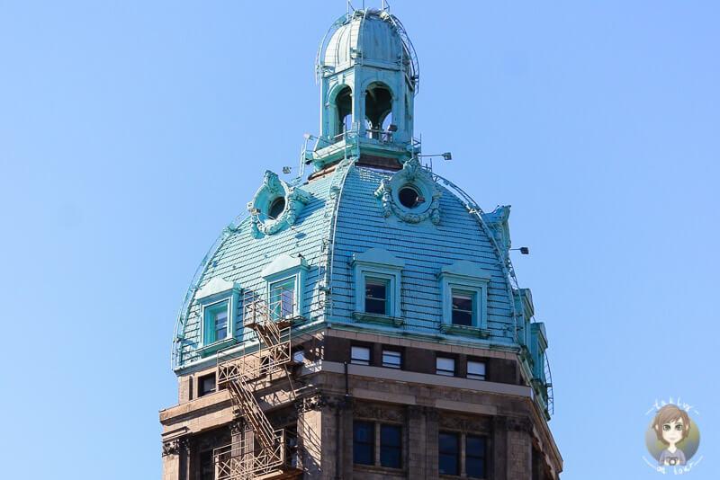Ein Turm in Vancouver