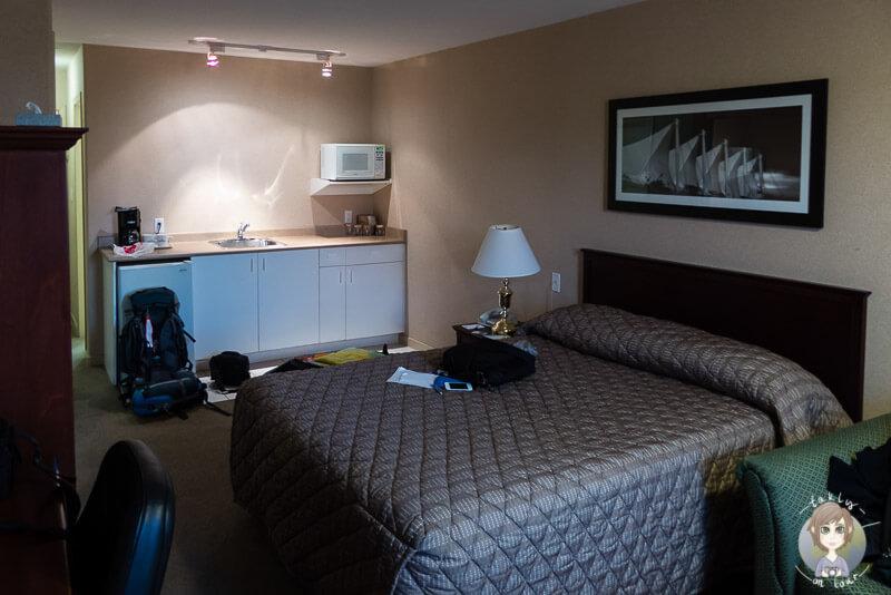 Zimmer im Sandman Hotel & Suites Vancouver Airport, Kanada