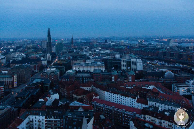 Übersicht über Hamburg, Deutschland