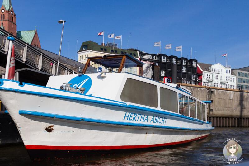 Hafenrundfahrt Hamburg mit Abicht