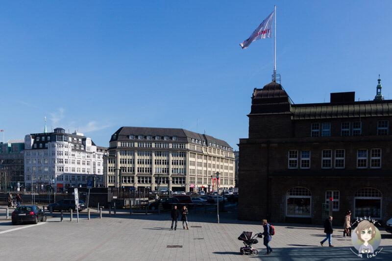 Am Hauptbahnhof Nord in Hamburg