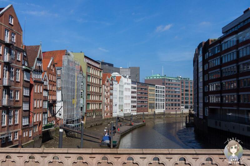 Blick auf den Nicolaifleet Hamburg