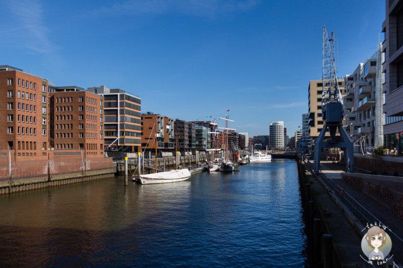 Ein Blick über die beeindruckende HafenCity Hamburg