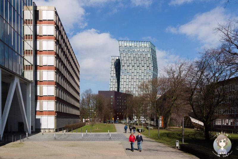 Ein schräger Anblick, die tanzenden Türme von Hamburg
