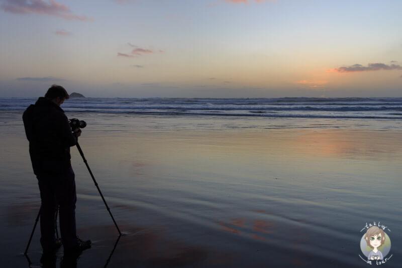 Das Stativ ist ein hilfreiches Zubehör für die Nachtfotografie