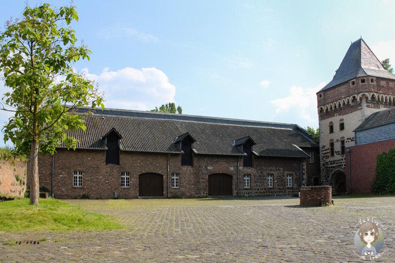 Burg Friedestrom in Zons am Rhein