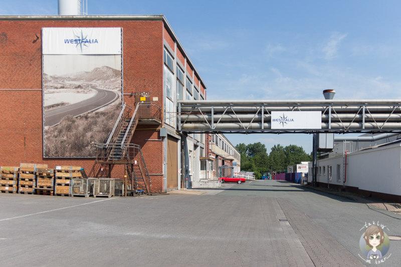 Das Werk der Westfalen Mobil GmbH in Rheda Wiedenbrück