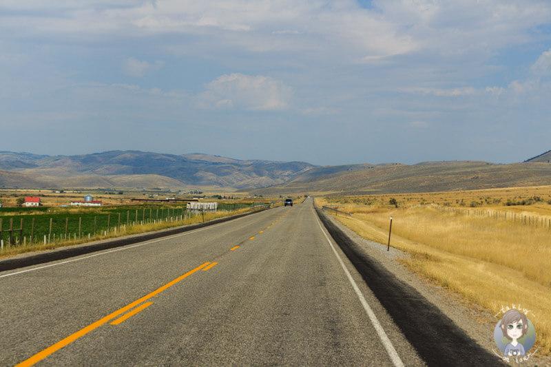Weite von Wyoming, USA