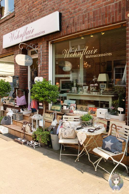 Ein kleiner Laden im Zentrum von Zons