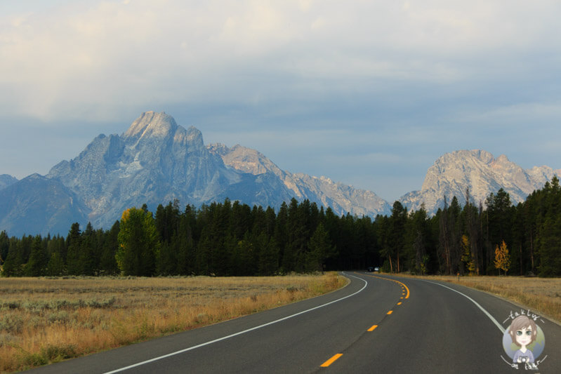 Die Grand Teton Range, Wyoming