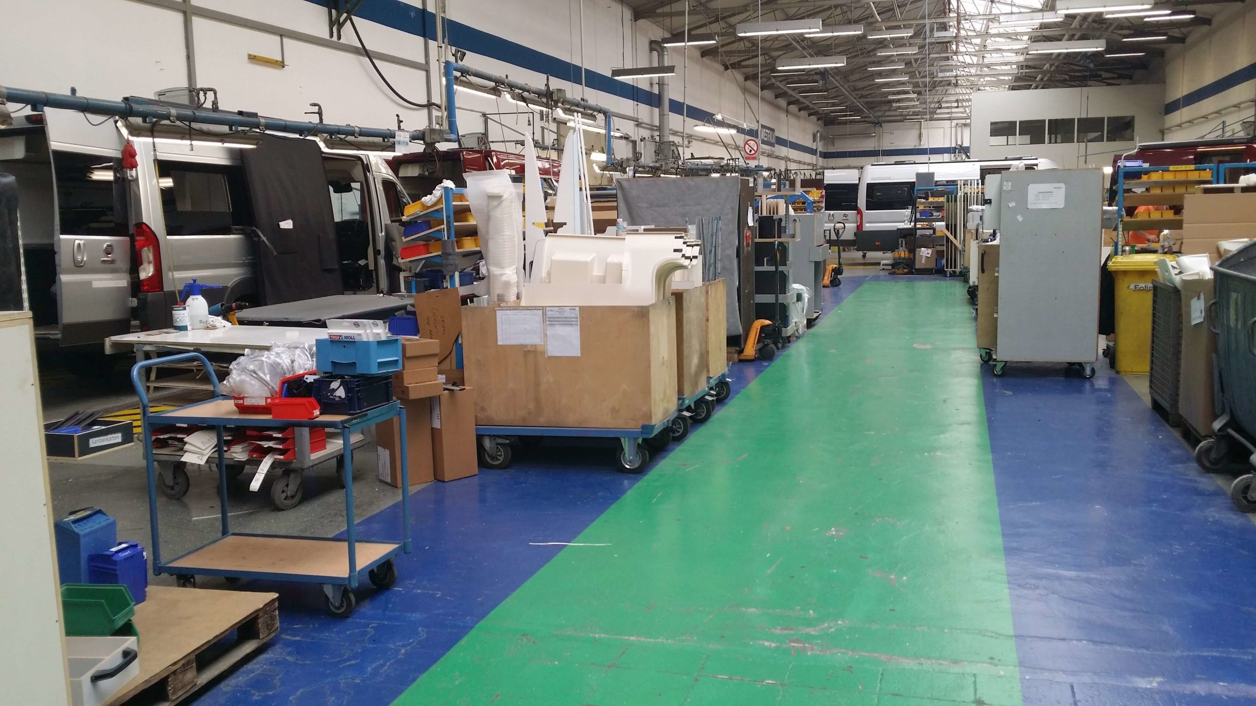 In der Produktion bei Westfalia in Rheda Wiedenbrück