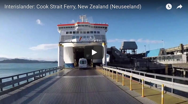 Youtube Video Interislander