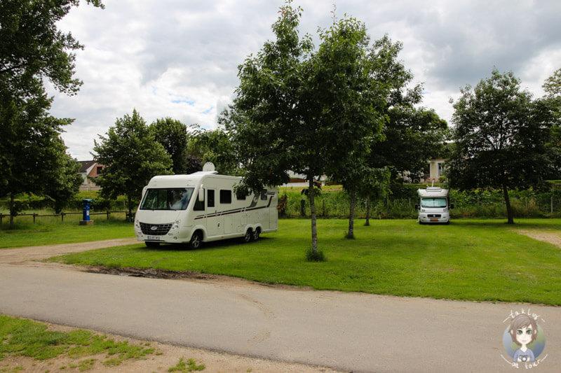 Campingplatz in Moulins, Frankreich bei unserem Camping in der Auvergne