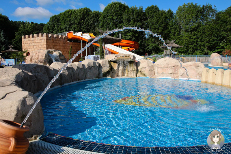 Aquapark in Murol, Camping Sunêlia La Ribeyre