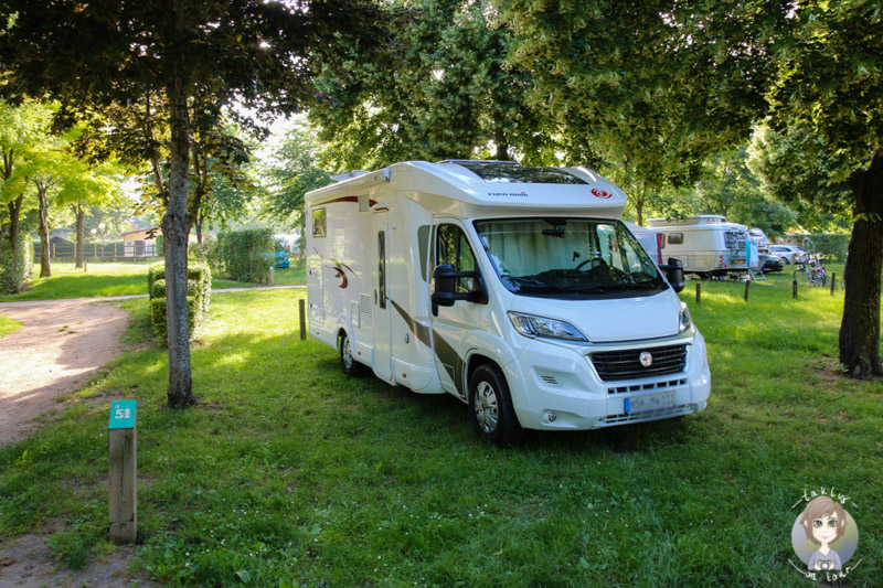 Stellplätze für Camping Cars l'entrée dans le Parc Naturel Régional des Volcans d'Auvergne