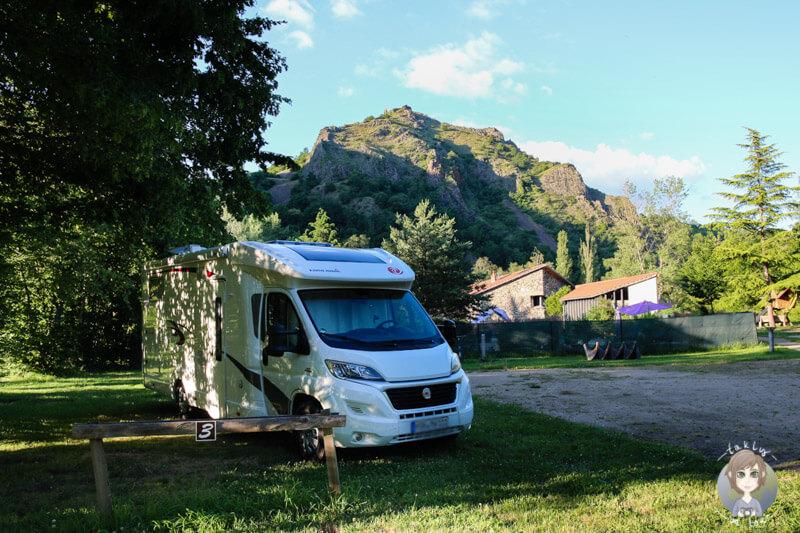 Mit dem Camping Car im CosyCamp, Chamalières-sur-Loire