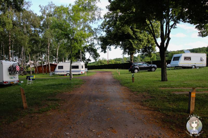 Camping für Wohnmobil, Caravan und Zelte in der Auvergne