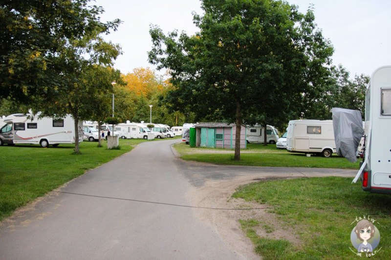 Camping in Moulins, Auvergne