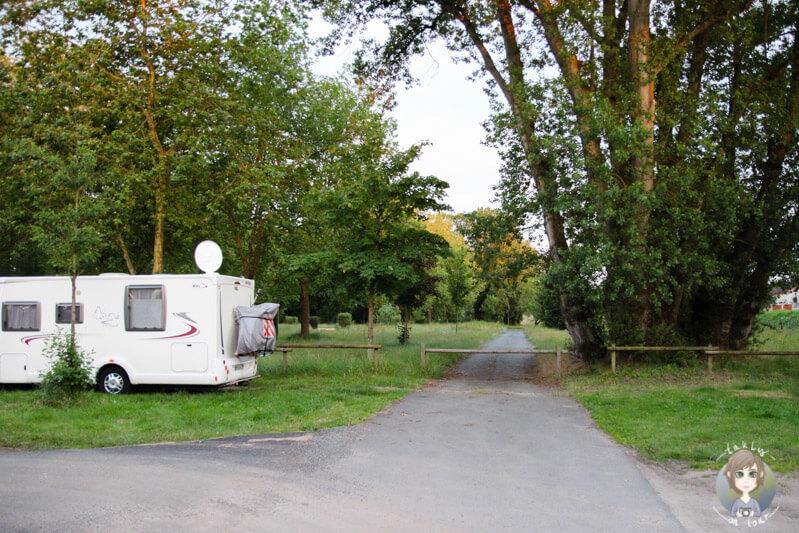 Camping in der Natur, Frankreich