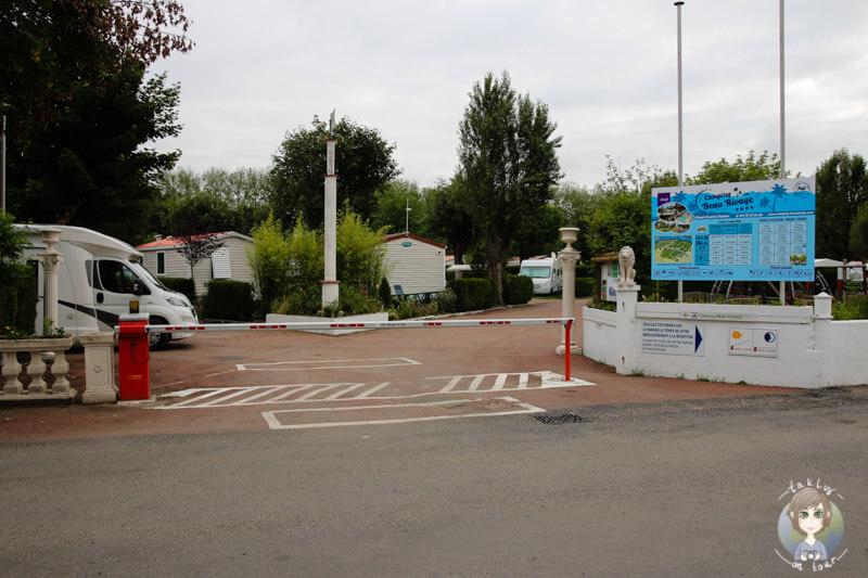 Campingplatz Beau Rivage, am Allier, Auvergne