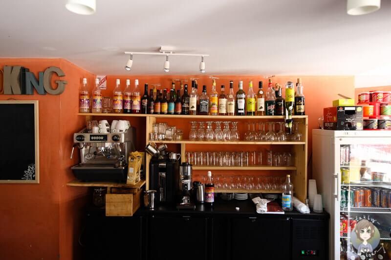 Die Bar im CosyCamp, Chamalières-sur-Loire