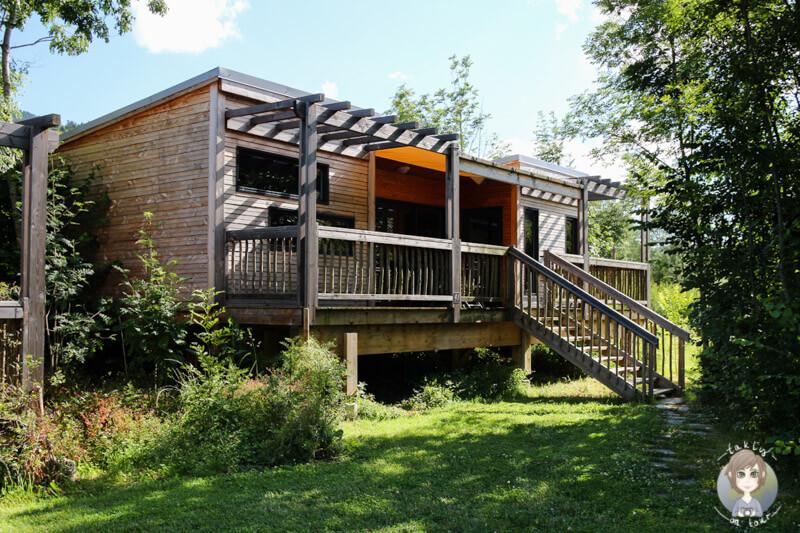 Ein Cottage im Glamping Cosy Camp in Frankreich