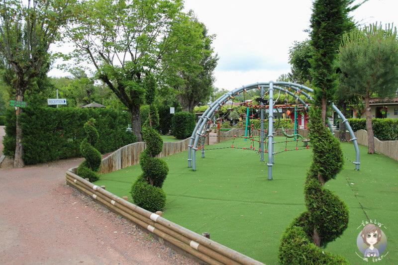 Ein Paradies für Kinder auf dem Campingplatz in Bellerive-sur-Allier