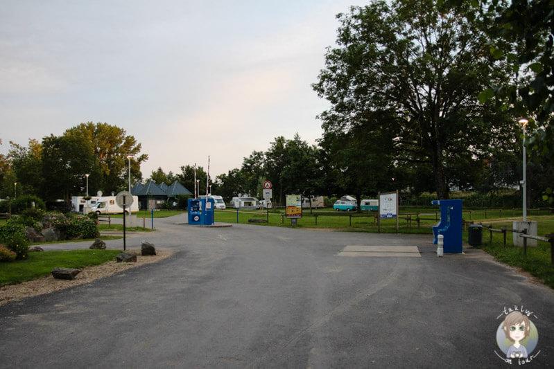 Entrance Aire de Camping-Car Moulins
