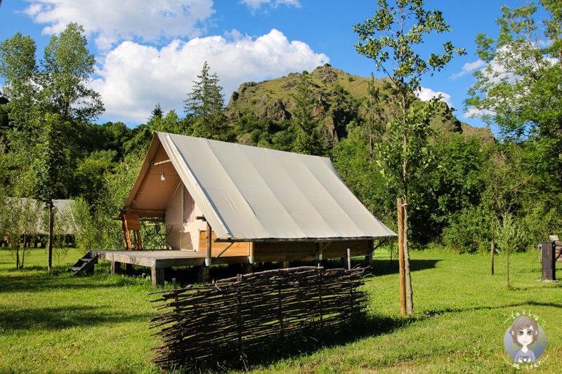 Camping in der Auvergne im Safarizelt, CosyCamp