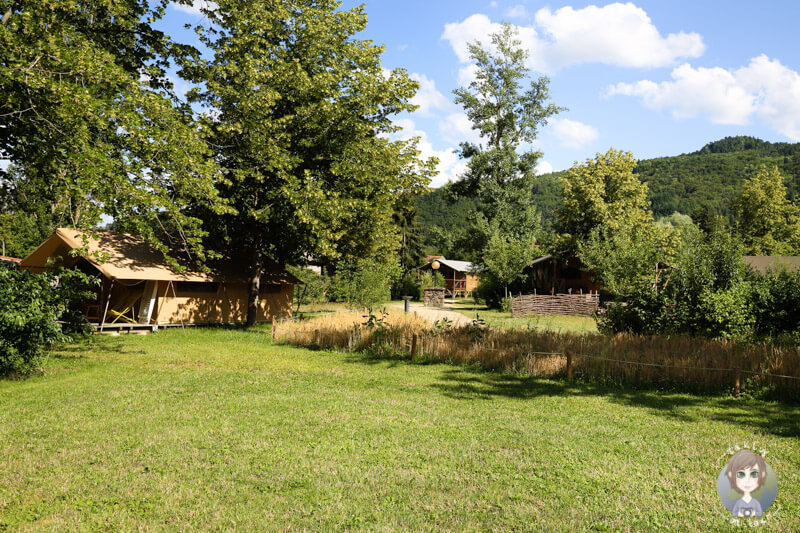 Glamping in Frankreich, das Cosy Camp