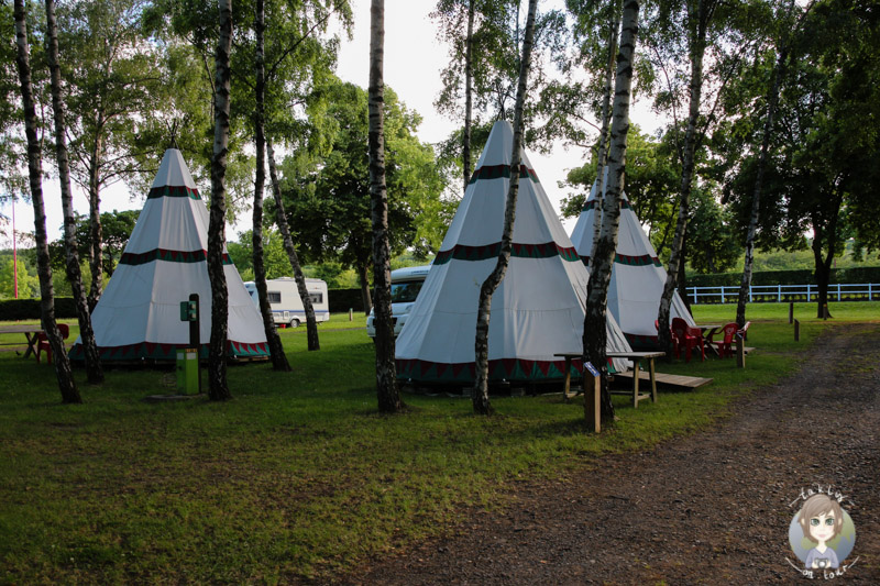 Glamping in der Auvergne, Camping Le Ranch des Volcans