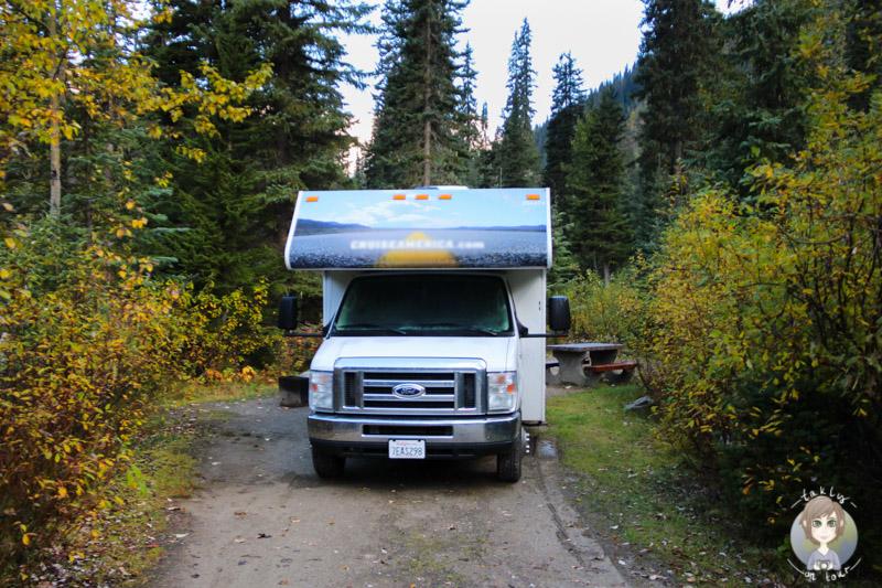Illecillewaet Campground, BC, Kanada