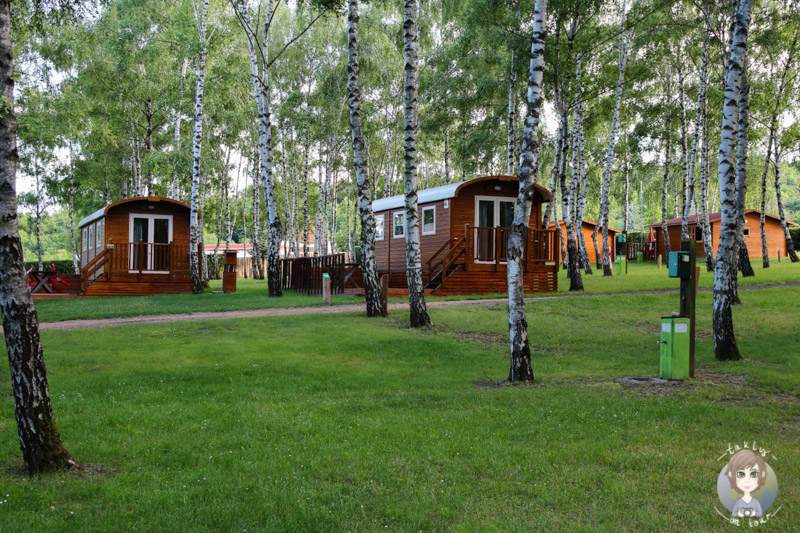 Luxuscamping Camping Le Ranch des Volcans