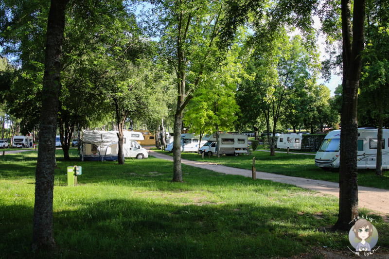 Naturnaher Campingplatz in Châtel-Guyon