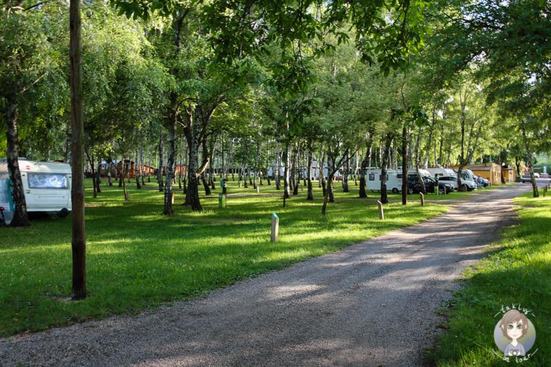 Schöne Stellplätze Camping Le Ranch des Volcans