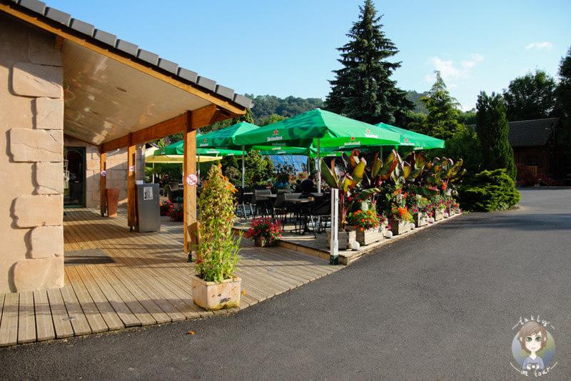 Snack auf dem Campingplatz Sunêlia La Ribeyre, Murol
