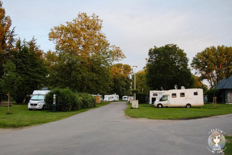Stellplatz für Wohnmobile in Moulins