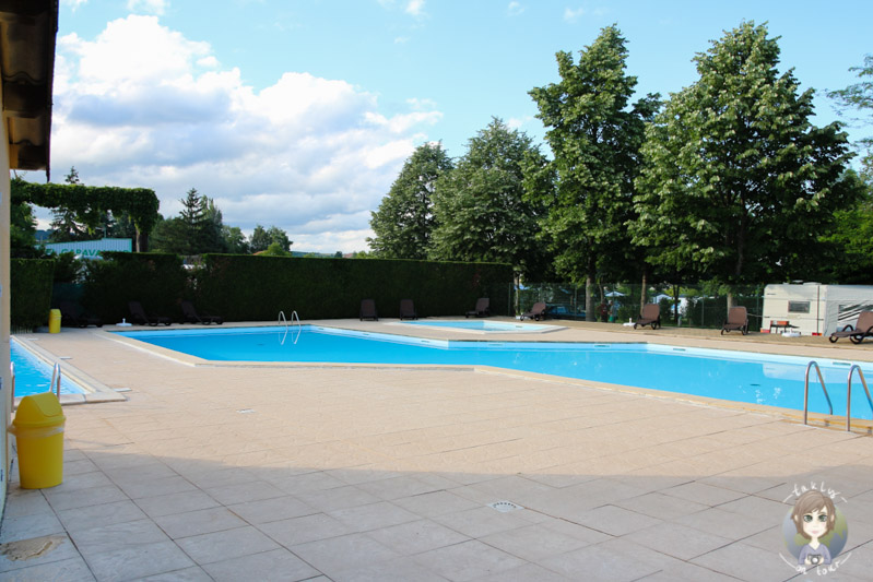 Swimmpingpool Camping Le Ranch des Volcans