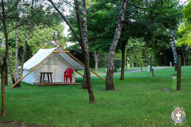 Tent Camping Le Ranch des Volcans