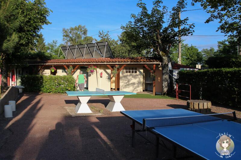 Tischtennis und PingPong in Vichy
