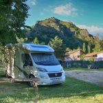 Camping in der Auvergne